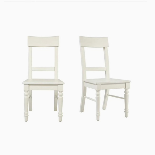 도젯 다이닝 의자  DORSET WHITE PAIR OF UPHOLSTERED DINING CHAIRS