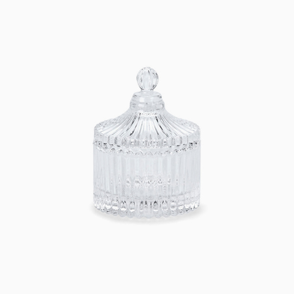 유리 스토리지 보관함 PRETTY GLASS STORAGE JAR PETIT