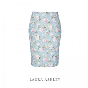 블라썸 프린트 스커트 BLOSSOM PRINT LINEN PENCIL SKIRT