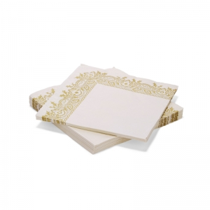 골드레이스 냅킨세트GOLD LACE SET OF 20 PAPER NAPKINS