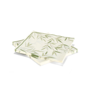 윌로우 냅킨세트WILLOW LEAF PAPER NAPKINS