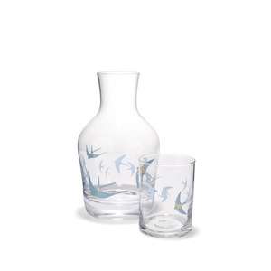 블루버드 물병세트  BLUE BIRDS CARAFE AND TUMBLER
