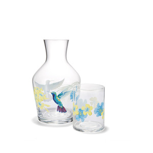 오키드 물병세트  ORCHID CARAFFE AND TUMBLER