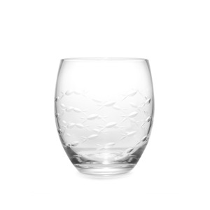 유리 피쉬 텀블러  ENGRAVED GLASS FISH TUMBLER