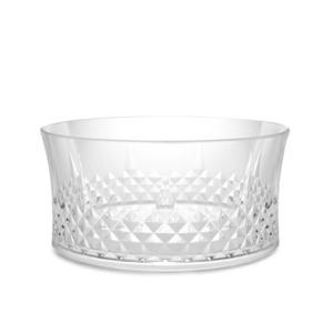 아크릴 볼  FACETED ACRYLIC BOWL