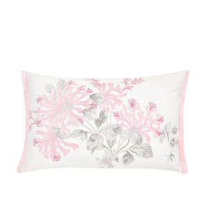 허니서클 시클라멘 자수 쿠션HONEYSUCKLE EMBROIDERED CUSHION CYCLAMEN