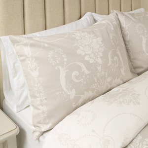 조세티 도브그레이 베개커버(HW)  JOSETTE DOVE GREY UK HOUSEWIFE PILLOWCASE