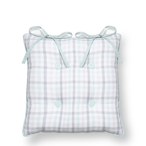 깅엄 방석  GINGHAM SEATPAD