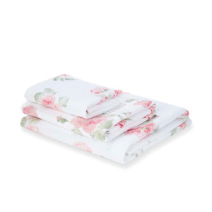 알버틴 블러쉬 타월 ALBERTINE PRINTED BLUSH TOWEL