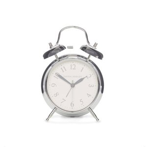 크롬 알람시계 CHROME MEDIUM BELL ALARM CLOCK