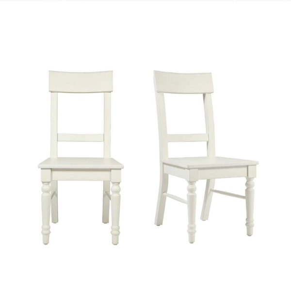 도르셋 다이닝 의자 DORSET WHITE PAIR OF UPHOLSTERED DINING CHAIRS