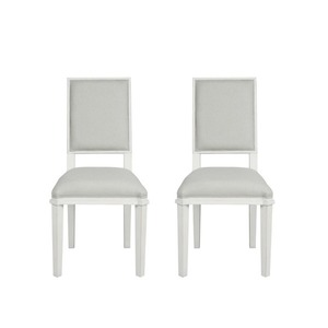 헨쇼우 페일스틸 다이닝 의자 HENSHAW PALE STEEL PAIR OF DINING CHAIRS