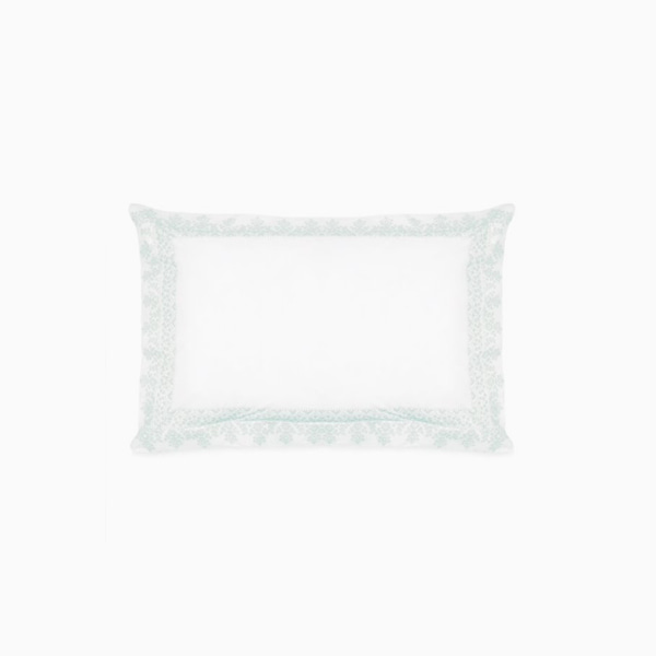 에디 덕에그 베개커버 EDIE PRINTED DUCK EGG OX PILLOWCASE