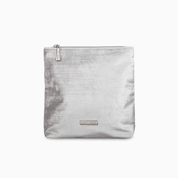 실버 벨벳 톨 워시백SILVER VELVET TALL WASH BAG