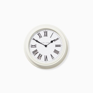 스몰 크림 벽시계  SMALL CREAM WALL CLOCK (Dia23cm)