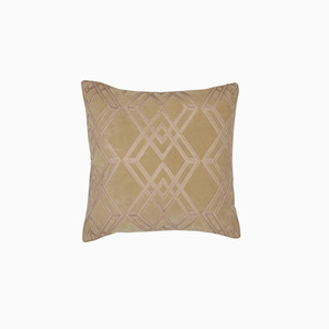 매디슨 앤틱 골드 쿠션  MADDISON EMBROIDERY CUSHION (ANTIQUE GOLD)