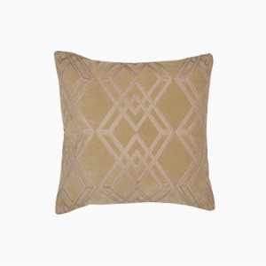 매디슨 자수 앤틱 골드 쿠션  MADDISON EMBROIDERY ANTIQUE GOLD CUSHION