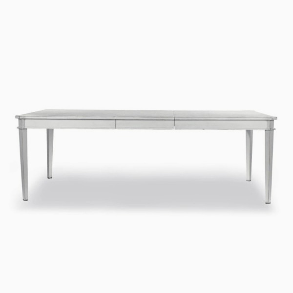 핸쇼우 페일스틸 식탁(6-8인)  HENSHAW PALE STEEL EXTENDING DINING TABLE