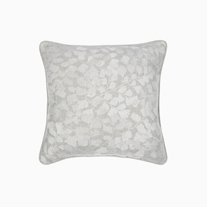메이든헤어 자수 실버 쿠션  MAIDENHAIR EMBROIDERED STEEL CUSHION