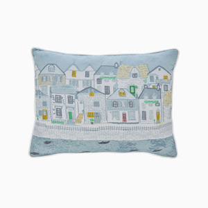 하버하우스 쿠션  HARBOUR HOUSES PRINTED CUSHION
