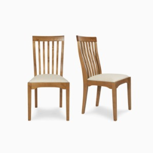 가렛 허니 식탁의자  GARRAT HONEY PAIR OF DINING CHAIR